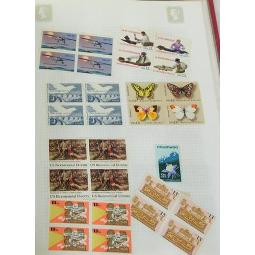 Collection of United States Stamps Mint/Used  in Tower Loose Leaf Album.