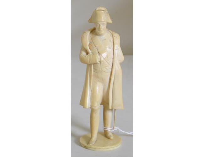An early 19th Century Napoleonic Prisoner of  War Bone Carving of Napoleon Bonaparte