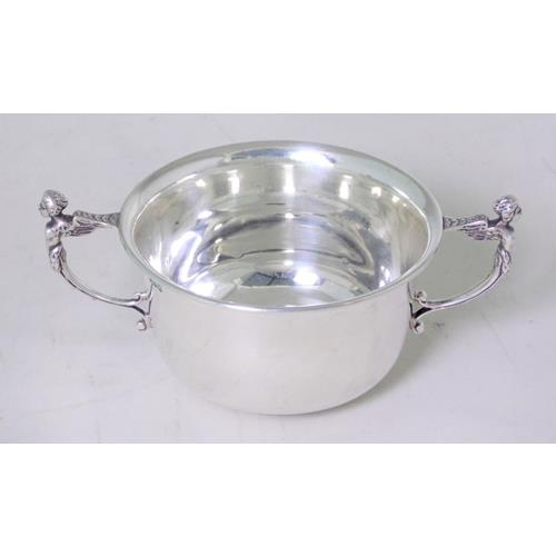 Good Sterling Silver Mappin & Webb Porringer
