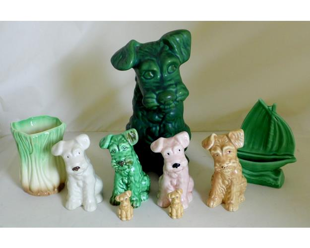 Sylvac  Terrier Dogs  Collection including No.1380.