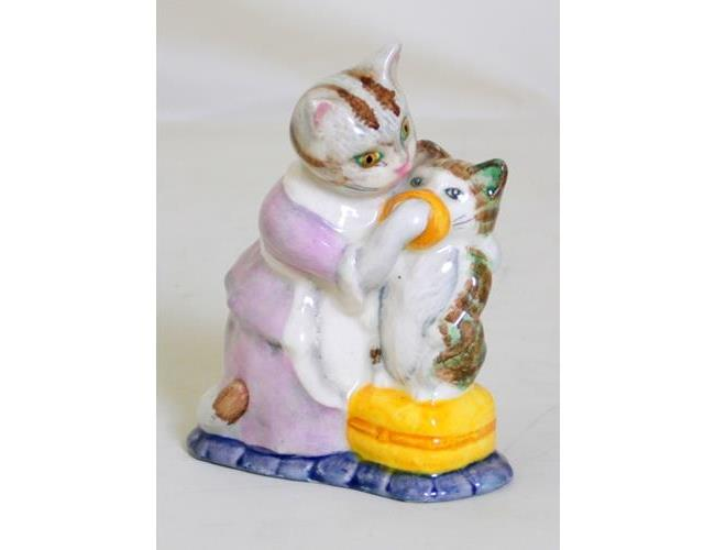 Beswick Tabitha Twitchit and Miss Moppet -  BP3B