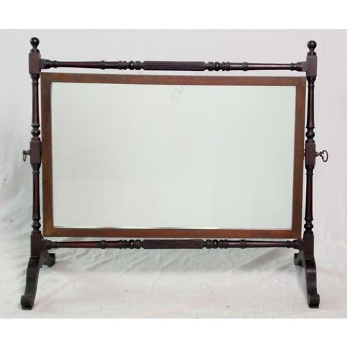 Antique Georgian/Regency Mahogany Adjustable  Dressing Table/Chest Mirror.