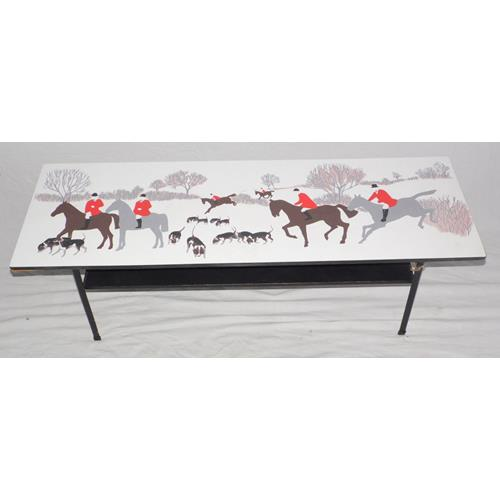 A Rectangular Coffee table, Designed by John  Piper. 1950/60's.