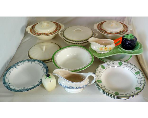 Collection of Pottery to Include: Carlton  Ware,Royal Doulton,Woods Etc.