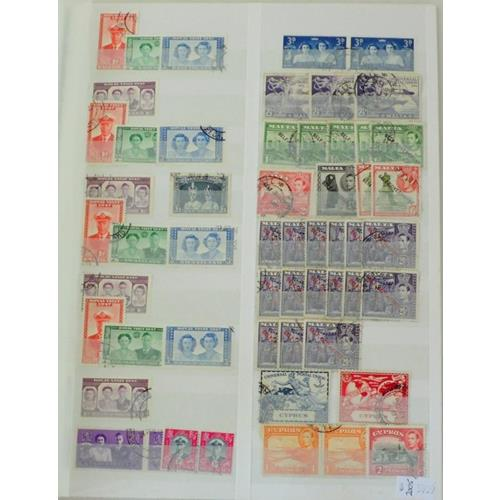 Collection of British Colonies, GB from QV  Used to  £1.