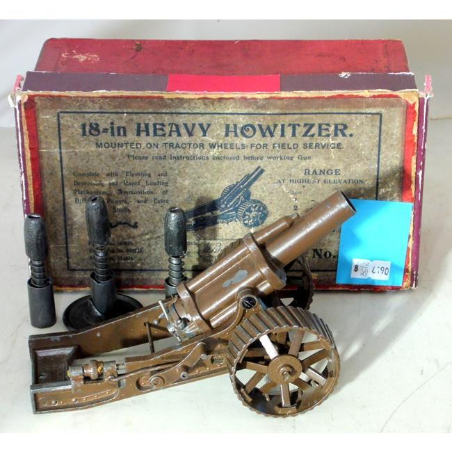 Vintage Britains No-2 WW1 18Heavy Howitzer