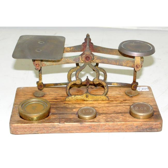 Vintage Postal Scales & Weights. Mid 1900s