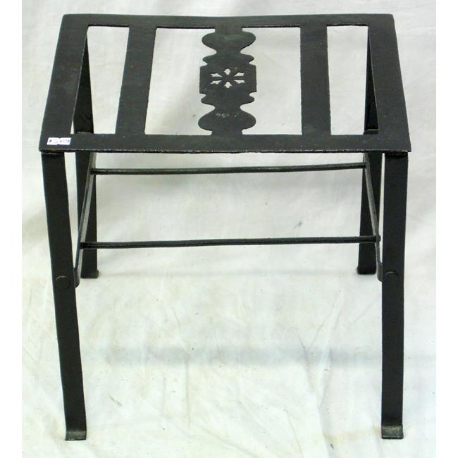 Georgian Wrought Iron Trivet Stand. 18th Century