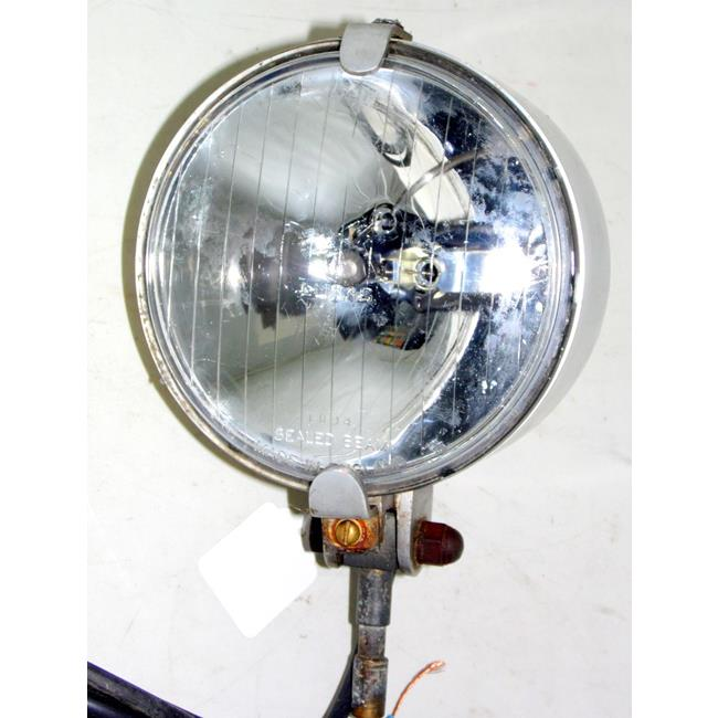 Vintage Lucas Silver Sabre 12V Rally Spot Light