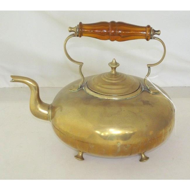 Vintage Brass Kettle by James Clews  Early 1900s.