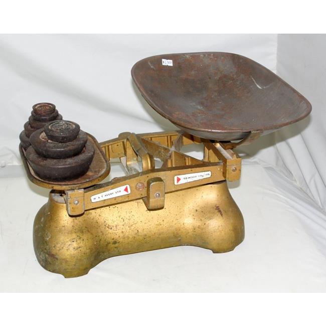 Vintage Shop W & T Avery Ltd Balance Pan Scales