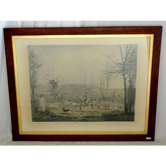 Large Antique H.B.Chalon Painting Engraved by Ward