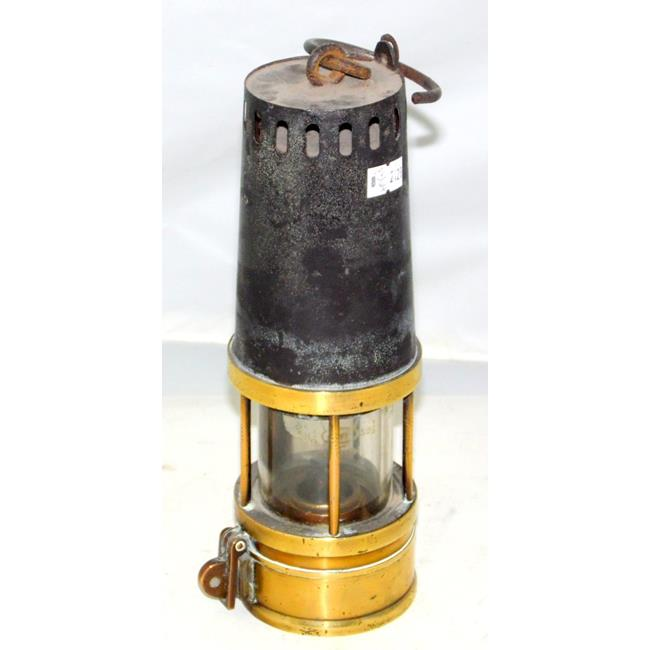 Miners Safety Lamp Clapham and Morris Ltd