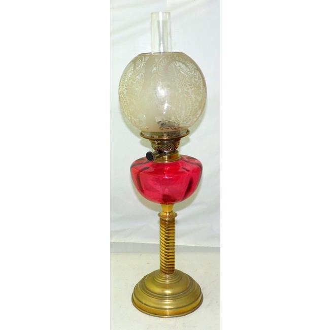 Victorian Oil Lamp. 19thc.