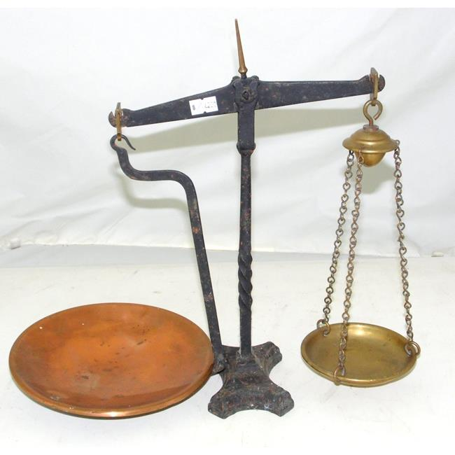 Antique Iron Balance Weighing Scales