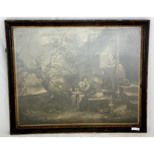 Antique George Morland, Original Mezzotint 1802