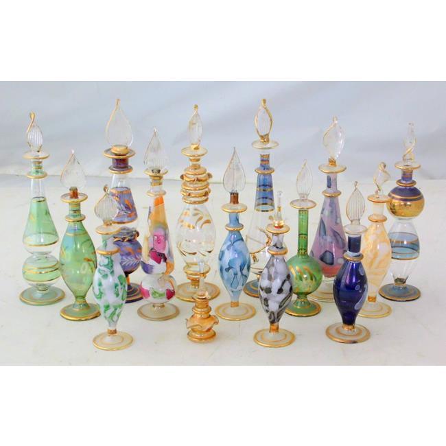 15 Vintage Venetian Murano Glass Scent / Perfumes