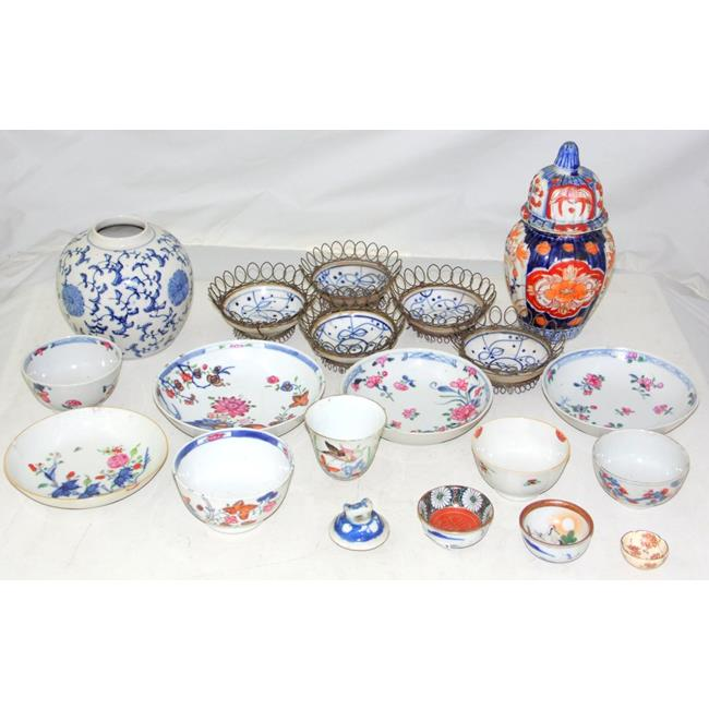 Antique Oriental China Collection.