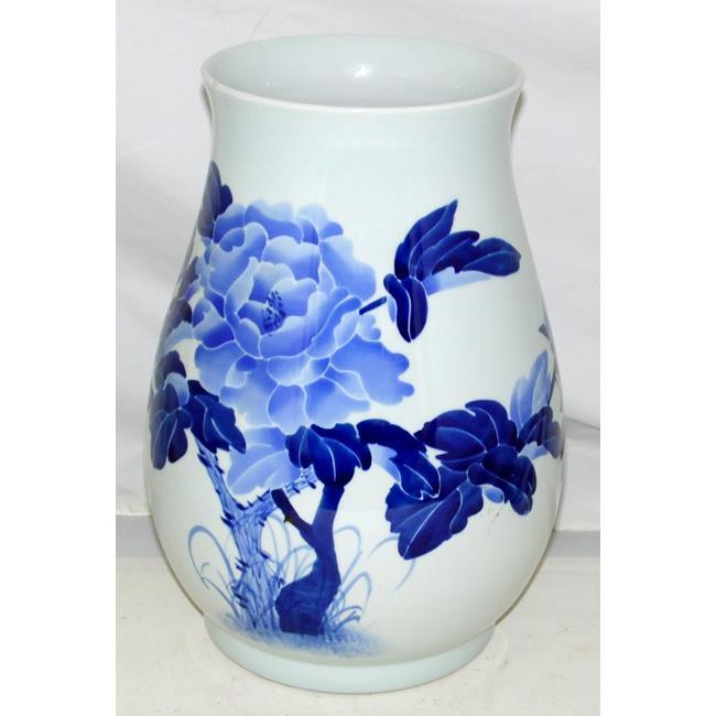 Large Japanese Blossom Vase