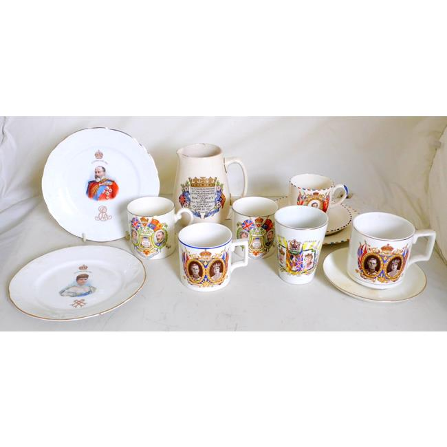 Antique British Commemorative Ware Collection