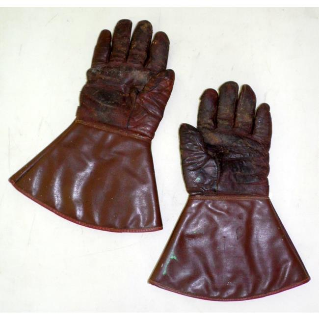 A pair of Waddingtons Leather Motorcycle Gloves