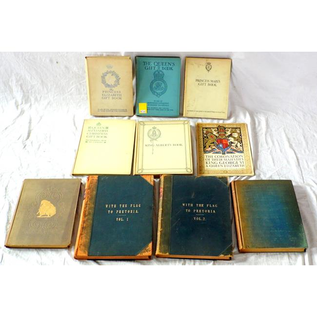Boer War,Punch & Commemorative Gift Books