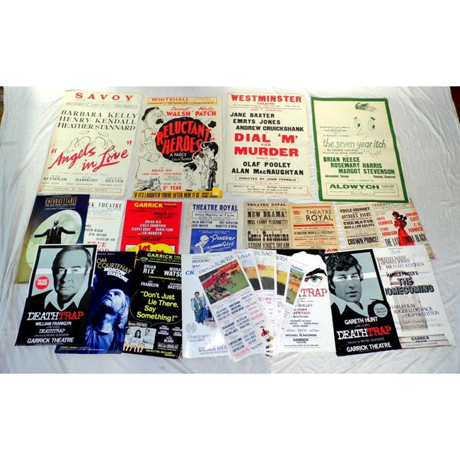 Collection of Theatre Posters