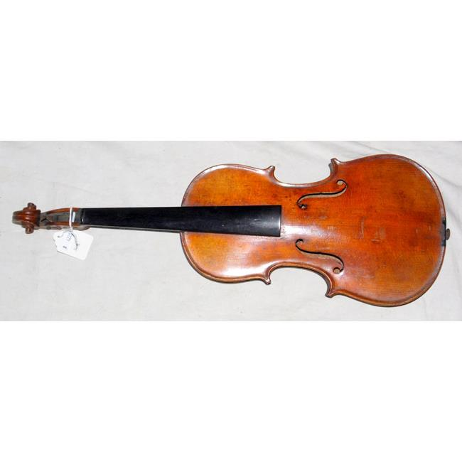 Antique 1/2 Size Violin Body. 19th/20thc