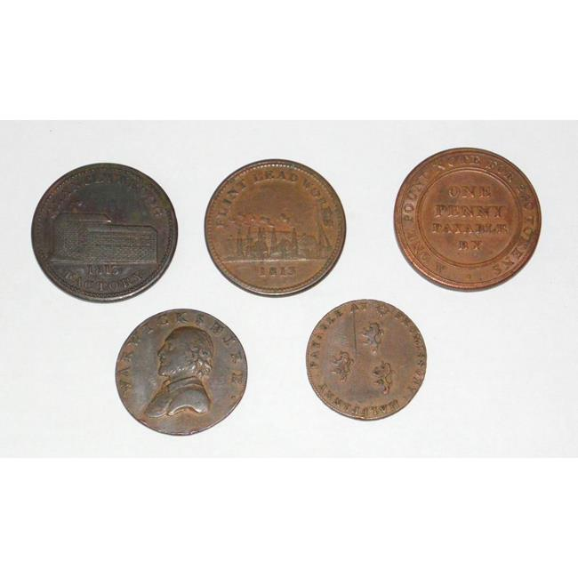 Georgian Collection of Copper Tokens 1791-1813
