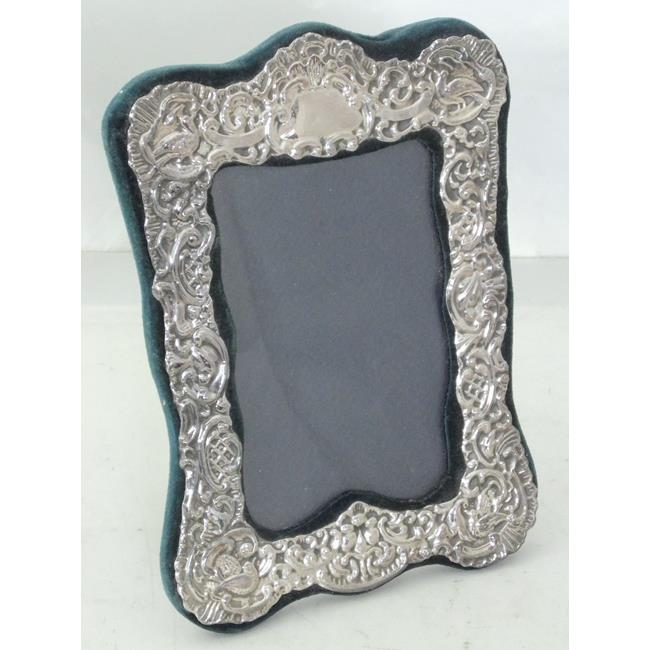 Sterling Silver  Repousse Photograph Frame