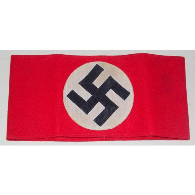WW11 Nazi German Army Swastika Arm Band.