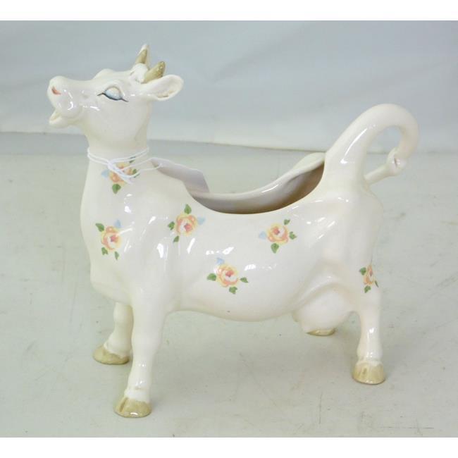 "Scarce""Yellow RoseBeswick Cow Creamer/Vase"