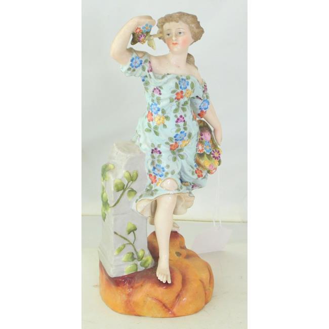 Victorian Helen Wolfsohn Dresden Figurine