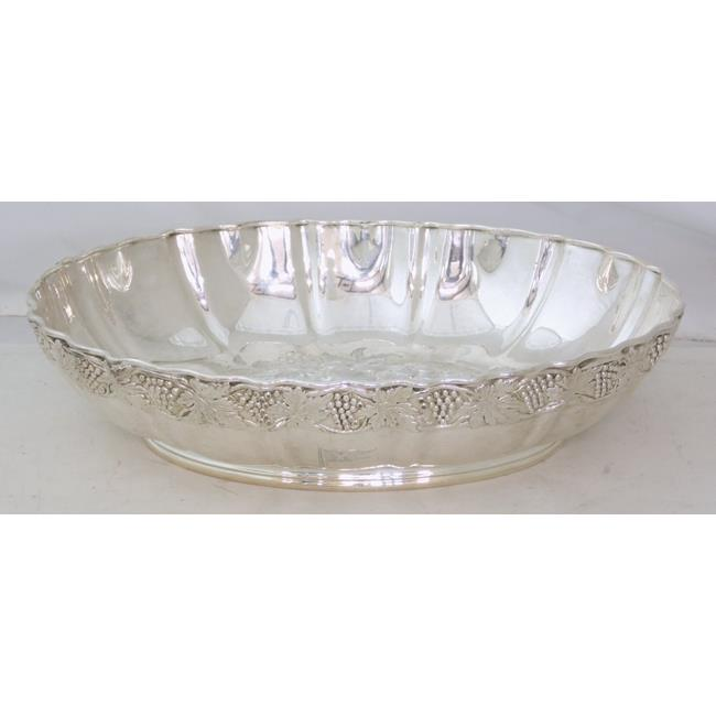 A White Star Line Line Plated Fruit Bowl