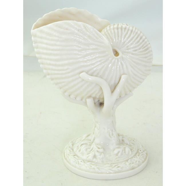 Royal Worcester Nautilus Shell Vase. 19thc.