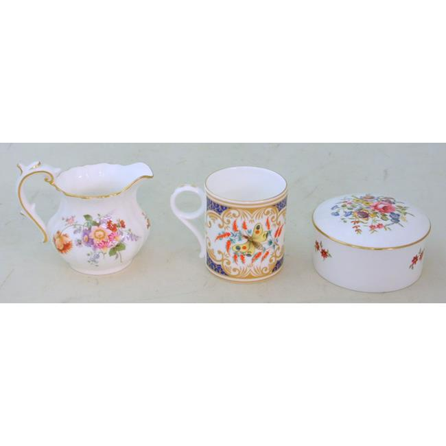 Royal Crown Derby 'Derby Posies' Jug. Etc
