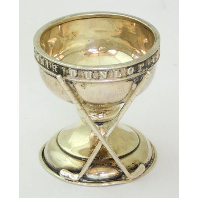 Sterling Silver 'Hole in One' Souvenir Cup c.1930