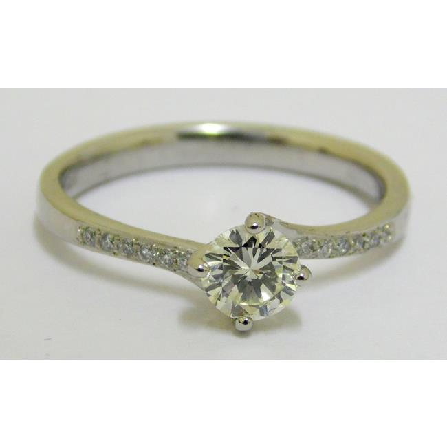 Platinum Diamond 0.40ct Set Solitaire Ring