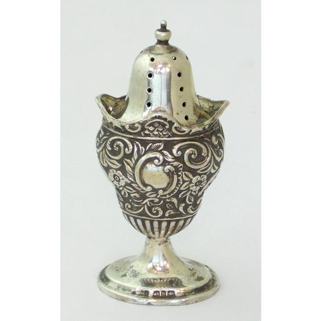 Sterling Silver Pepper Pot c.1898