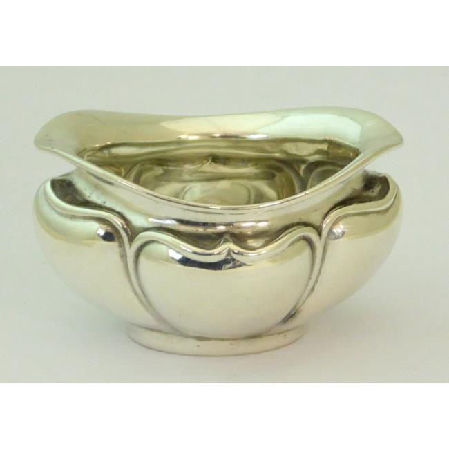 Art Nouveau Silver Salt Cellar c.1910