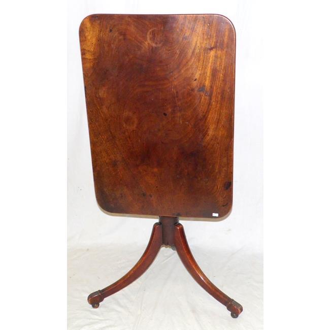 A George IV Mahogany Tripod  Wine Table. 19thc