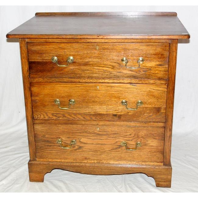 1920s Solid Oak Chest of Drawers.
