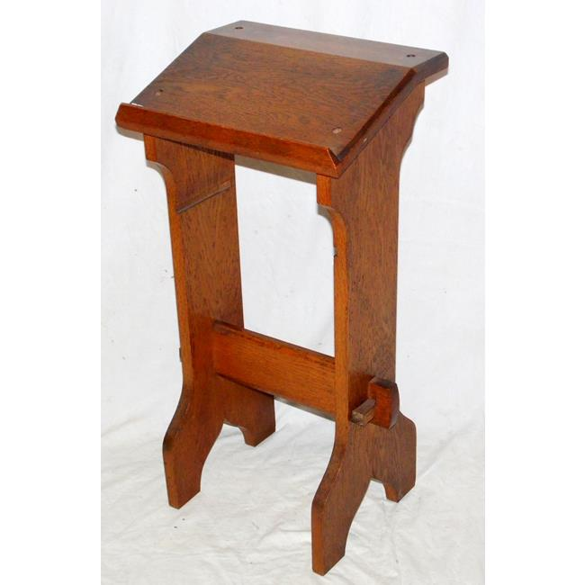 Victorian English Oak Lectern Bible Prayer Stand.