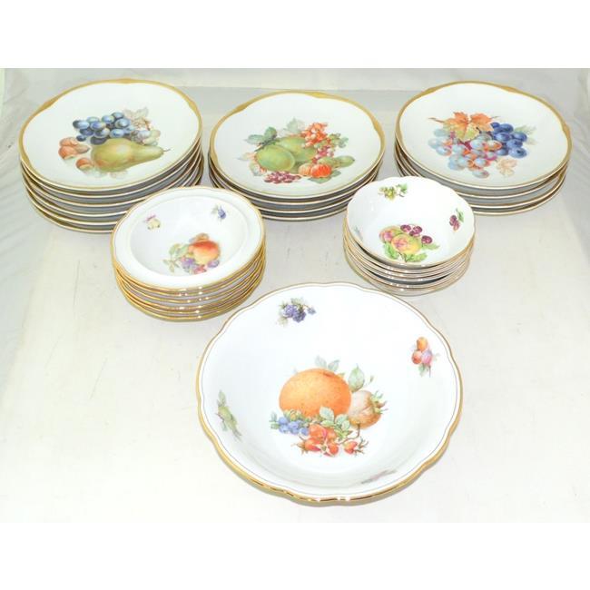 Schumann Bavarian Porcelain Dessert Service