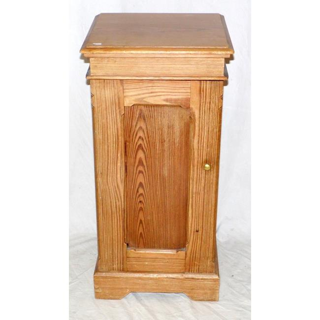Antique Victorian Pine Pot Cupboard. 19thc.
