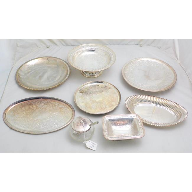 Antique Collection of Silver Plate. Early 1900s