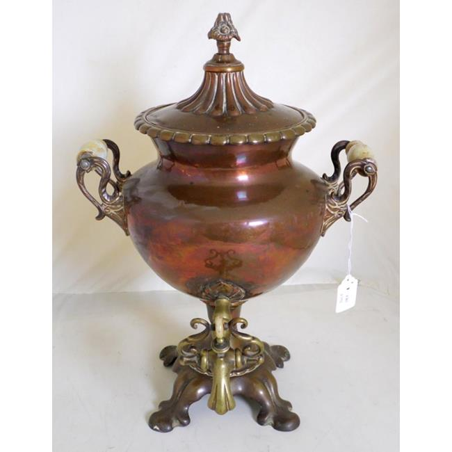 A Late Regency Period Copper Samovar.Early 19thc.