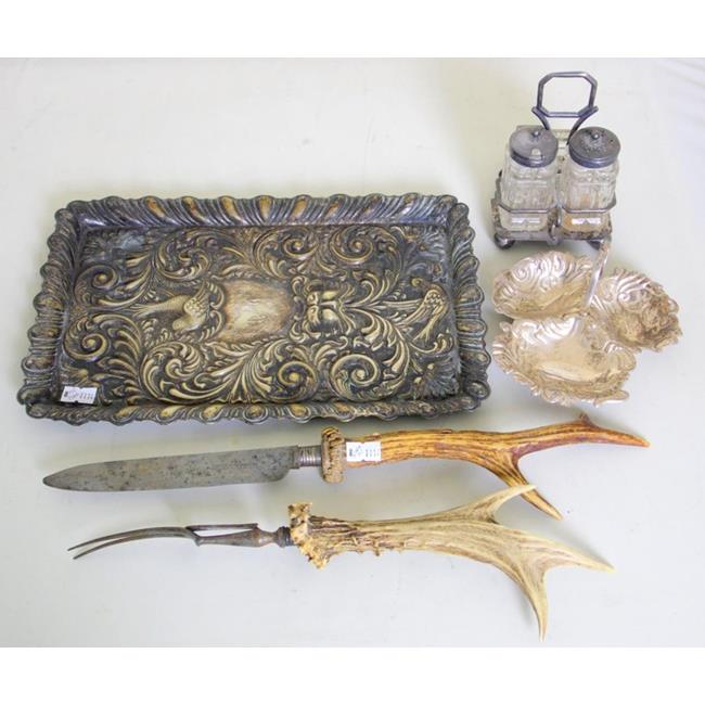Victorian Silver Plate EPNS Items.