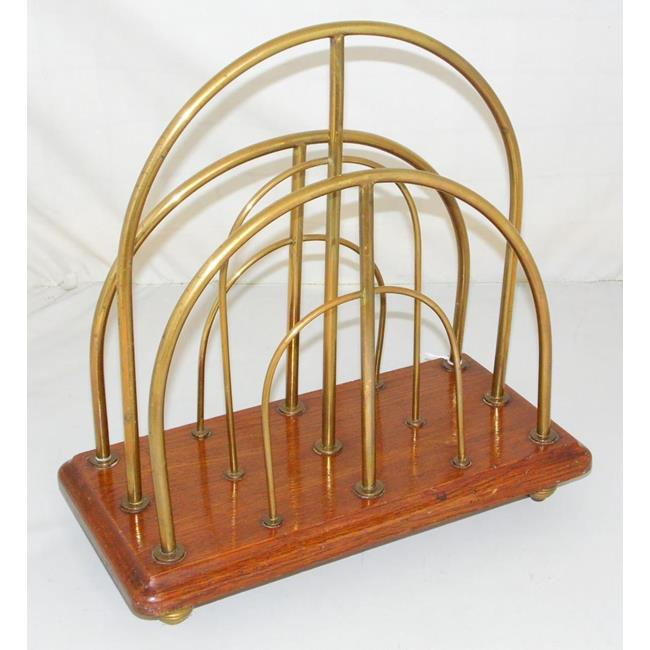 Antique William Tonks & Sons Paper Rack