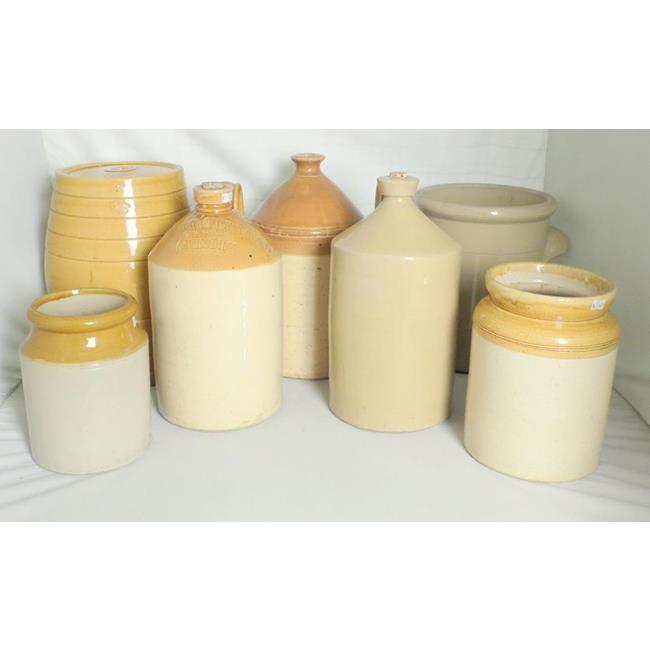 Antique Collection of  Stoneware